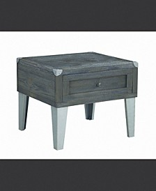 Bartow Rectangular End Table with Storage Cabinet