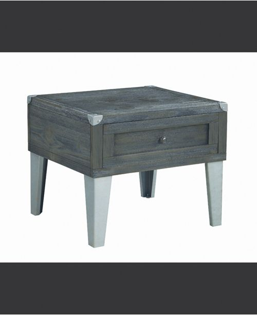 Coaster Home Furnishings Bartow Rectangular End Table with Storage Cabinet