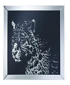 Frank Wall Mirror with Image Of Leopard