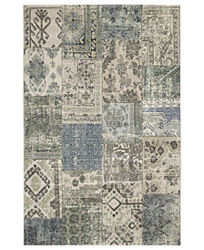 "Couristan Area Rug, Taylor Camilla Antique-Grey 5'3"" x 7'6"""