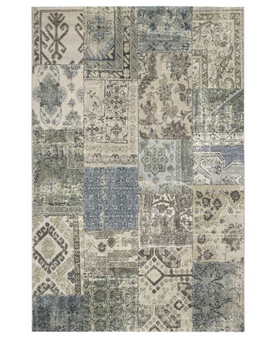 Couristan Area Rug, Taylor Camilla Antique-Grey 3'11