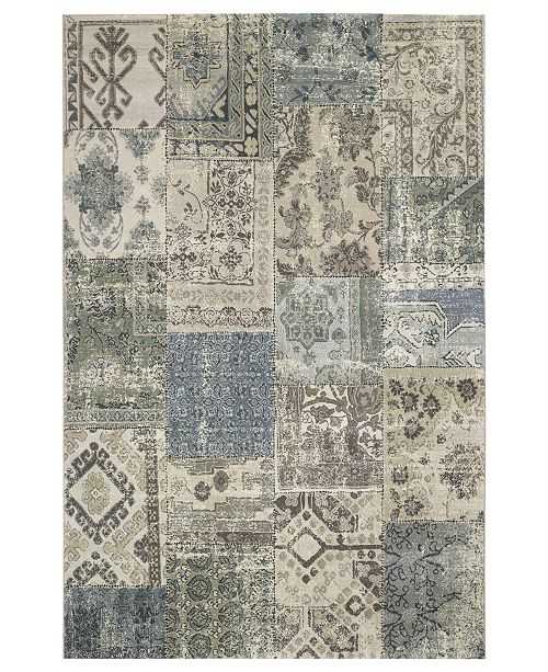"Couristan Area Rug, Taylor Camilla Antique-Grey 9'2"" x 12'5"""