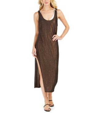 Kenneth Cole Day Glow Sleeveless Cover-Up Dress Women's Swimsuit