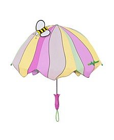 Little and Big Girl Lotus Flowers Umbrellas
