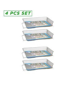 4 Piece Stackable Paper Tray