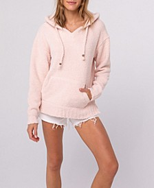 Cozy Chenille Hooded Sweater