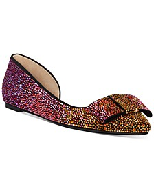 INC Maiyana Ombré Bling Flats, Created for Macy's