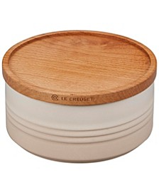 23-Oz. Canister & Wood Lid