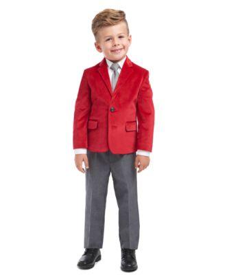 Nautica Childrens Apparel Baby Boys Solid Poplin Blazer and Dress Pant