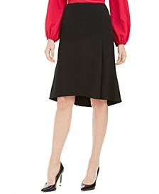 Petite Flare-Hem Skirt