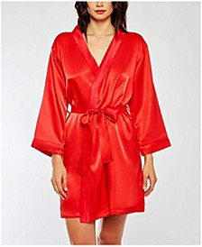 Satin Ultra Soft Lounge Robe, Wrap