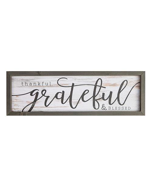 P Graham Dunn Thankful, Grateful, Blessed Wall Art