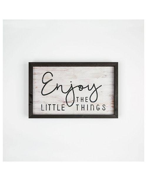 P Graham Dunn Enjoy The Little Things Wall Art
