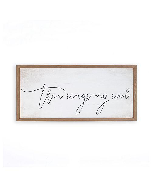 P Graham Dunn Then Sings My Soul Wall Art