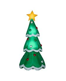 7 ft. Inflatable Christmas Tree