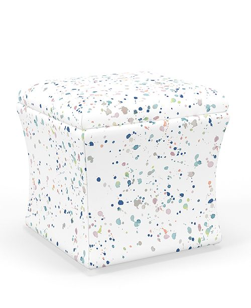 Martha Stewart Collection Whim Collection Skylar Storage Ottoman