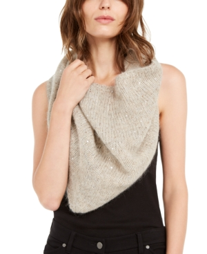 Eileen Fisher Accessories SEQUINED INFINITY WRAP