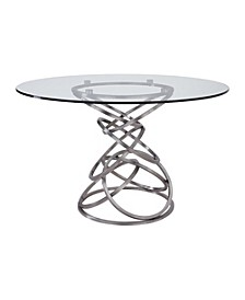 Wendy Round Dining Table, Quick Ship