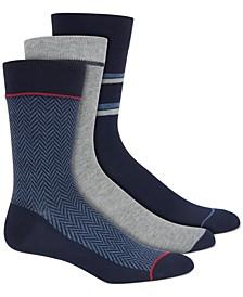 Men's 3-Pk. Printed Socks