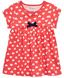 Toddler Girls Heart-Print Tunic, Created For Macy's