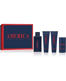 Men's 4-Pc. America Eau de Toilette Gift Set