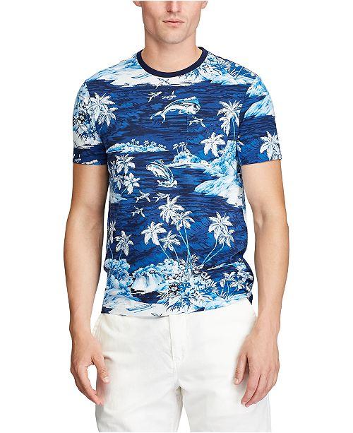 Polo Ralph Lauren Men's Classic-Fit Tropical-Print T-Shirt