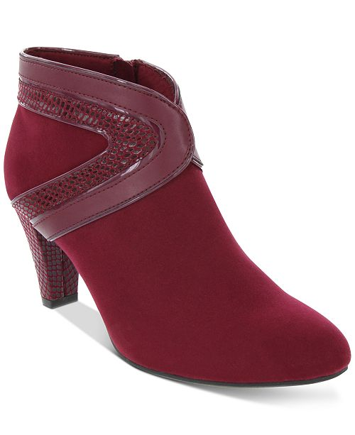 Karen Scott Wendaa Dress Booties, Created For Macy's