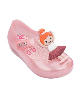 Baby Girl Shoes Mini Melissa Ultragirl BB VIII Mary Jane Toddler Shoes NEW