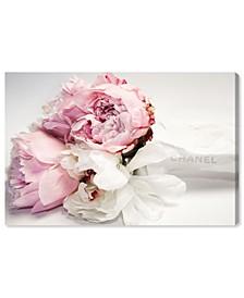 "Peonies and Magnolia Love Canvas Art - 24"" x 36"" x 1.5"""