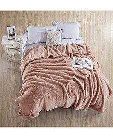 Tipped Extra-Fluffy Blanket - Twin