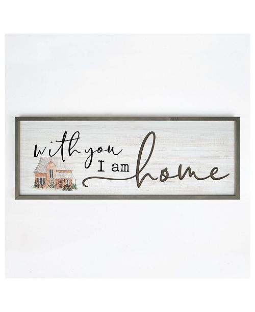 P Graham Dunn With You I Am Home Wall Art