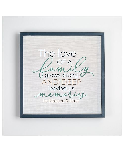 P Graham Dunn The Love Of A Family Grows Strong And Deep Wall Art