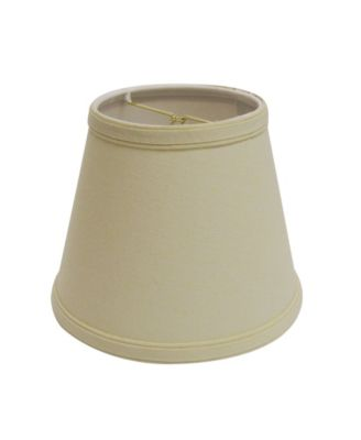 Drum Chandelier Lampshade with Double Flame Clip