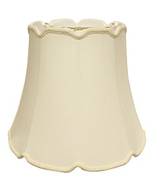 "Slant Empire Cyliner ""V"" Notch Softback Lampshade with Washer Fitter"