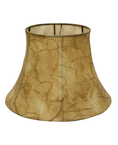 Cloth&Wire Slant Shallow Drum Softback Lampshade with Washer Fitter