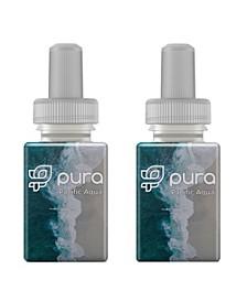 Fragrance Refill Set of 2 Pacific Aqua