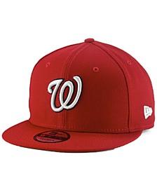 Washington Nationals Basic 9FIFTY Snapback Cap