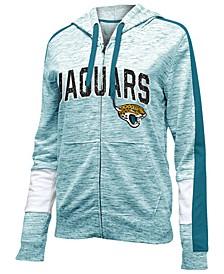 Women's Jacksonville Jaguars Space Dye Full-Zip Hoodie