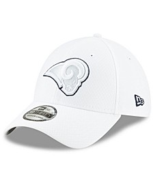 Los Angeles Rams On-Field Platinum 39THIRTY Stretch Fitted Cap