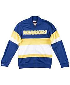 Men's Golden State Warriors Front Stripe Sweater