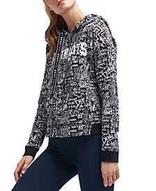DKNY Women's New England Patriots Urban Hoodie