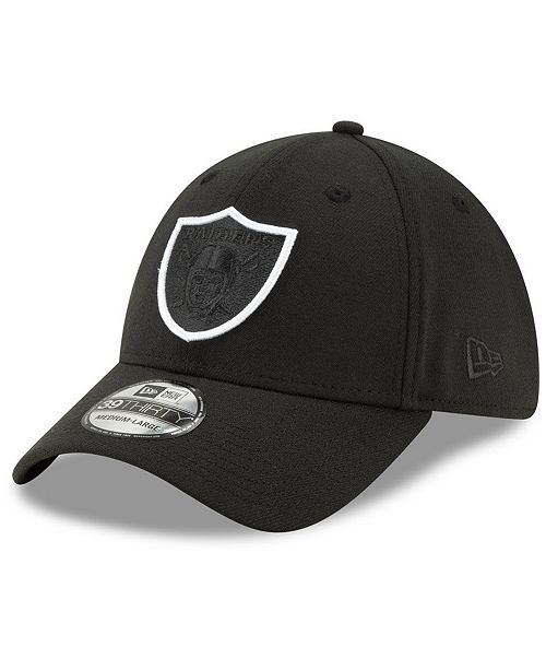 New Era Oakland Raiders Logo Elements 2.0 39THIRTY Cap