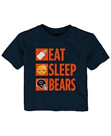 Baby Chicago Bears Daily Agenda T-Shirt