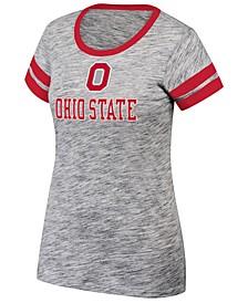 Women's Ohio State Buckeyes Tiebreaker Ringer T-Shirt