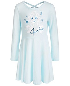 Little Girls Frozen Elsa Fearless Dress