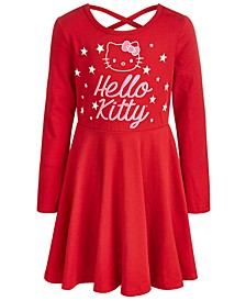 Little Girls Stars Skater Dress