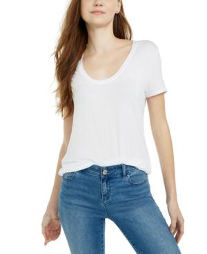Splendid T-shirts SLOANE SCOOP-NECK T-SHIRT