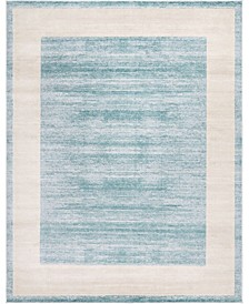 Yorkville Uptown Jzu007 Turquoise 8' x 10' Area Rug