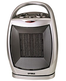 H-7247 Portable Oscillating Ceramic Heater with Thermostat