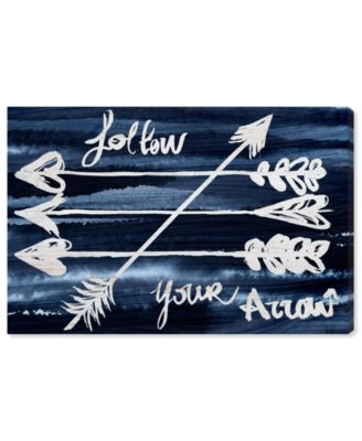 Follow Your Arrow Canvas Art, 36